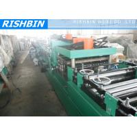 China Hot Rolled Coils Adjustable C Purlin Roll Forming Machinery Gcr15 Quenched Roller on sale