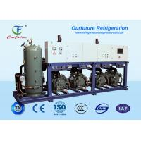 Quality Cattle Meat Cooling Bitzer Condensing Units Parallel Compressor Racks for sale