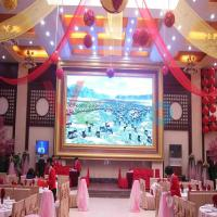 China Remote Control Indoor Full Color LED Display P10 Led Module AC 110V - 220V DP5020 on sale