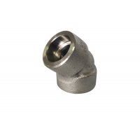 Quality Forged 45° Elbow 9000# S31254 Socket Pipe Fitting for sale
