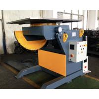 China 2T Capacity Welding Positioner With 1200mm Square Table / Tilting Speed Digital Readout wholesale