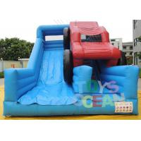 China Customized Giant Bule Inflatable Slide For Sale Price From China Guangzhou Factory wholesale
