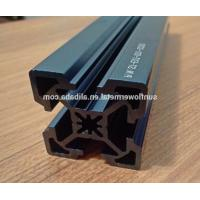 China Laser engraving on anodized aluminum, Super high precision blue anodized extruded aluminum profile wholesale