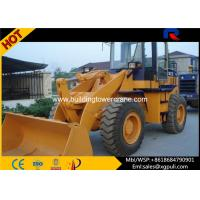 Quality Rated Load Capacity 1800kg Small Wheel Loader Dumping Distance 910mm for sale