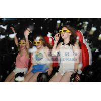 China 6 People 7D Motion Cinema Mobile Truck With Special Effect Motion Chairs wholesale