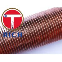 China C10200 Cold Drawn Seamless Low Fin Tube For Boiler And Heat Exchanger wholesale
