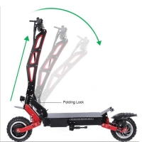 Buy cheap Leading Design 5600W Motor 60V 28/33/38AH Battery Electric Scooter Max Speed from wholesalers