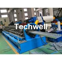 China 15 KW Forming Motor Power Cold Roll Forming Machine For Producing Steel Cable Tray Profile Sheets wholesale