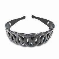 China Fancy Headband with Teeth, Various Sizes and Colors are Available, Made of Plastic wholesale