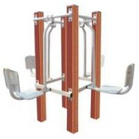China High quality Safe Outdoor Fitness Equipment Four-unit Leg Stretcher on sale