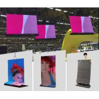 Quality Onumen P6 1R1G1B Ultra Thin Video transparent led display screen Great waterproof  27778 Pixel / M² For Rental for sale