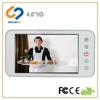 China Home Wide Angle Smart Digital Door Viewer 160 Degree 4.0 Inch LCD Screen Size on sale