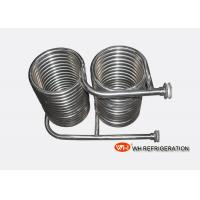 China Seamless 316L Stainless Steel Coil Heat Exchanger OD 25 MM Tube Spiral Type on sale