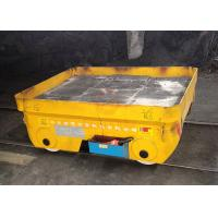 China High temperature battery power billet transfer car on steel rails wholesale