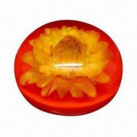 Quality Acrylic Floral Embedment Paperweight for sale