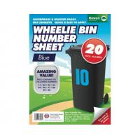 China Number Stickers for Wheelie Bin wholesale