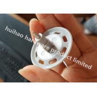 """Quality 0.300"""" Insulation Fixing Drive Pins With Plastic Washers For Pneumatic Stapler for sale"""
