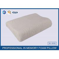China Comfort Waved shapded Memory Foam Contoured Pillow , Classic Memory Foam Pillow wholesale