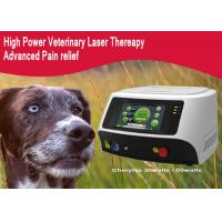 China Diode Laser Therapy Machine For Dogs /  Canines , GaAlAs Diode Laser Treatment Device wholesale