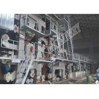China Waste Paper Recycling Machine Fourdrinier Multi - Cylinder on sale