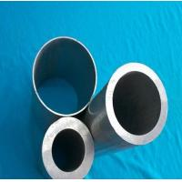 Quality ISO 9001 Corrugated Seamless Aluminum Tubing , Extruded Aluminum Pipe For Decoration for sale