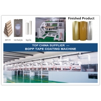 China Silicone Release Paper Film 120m/Min 1000mm Adhesive Tape Coating Machine wholesale