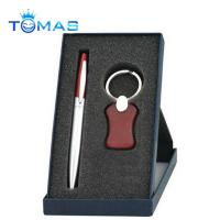 China hot selling promotion metal and wooden pen gift set on sale