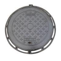 China Durable Ductile Round Cast Iron Manhole Cover For Road Construction wholesale