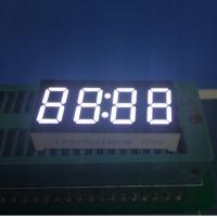 China 4 Digit Common Anode 7 Segment Display for microwave clock timer 30 X 14 X 7.2 mm wholesale