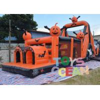 China Crazy Large Halloween Inflatable Haunted House Obstacle Course Equipment Outdoor wholesale