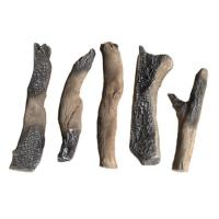 China Outdoor Patio Gas Fire Logs Fire Resistant Concrete Logs And Clay Logs S08-64C wholesale