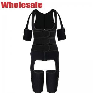 China Waist Thigh Shaper Customized With Arm Three Belts Thigh Shaper High Waist wholesale