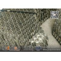 China AISI304 Stainless Steel 14 Gauge x 50mm hexagonal Grid Mesh Panel wholesale