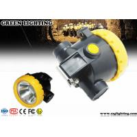 China IP67 Explosion - Proof Rechargeable Miners Headlamp Cordless Type 0.74W Power wholesale