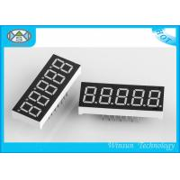 China LED 5 Digit 7 Segment Display 11-220 Mcd Brightness , LED Numeric Displays For Indoor wholesale