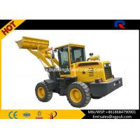 China 0.65 cubic hooper Micro Wheel Loader Power 30KN Load Capacity 1.8T wholesale