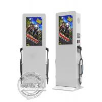 China Flat Screen Outdoor Digital Signage , 55 Inch TFT Touch Screen LCD Display on sale