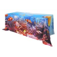 China Custom Printing Trade Show Tablecloths 183 * 76 * H 74 Cm Furniture Suit wholesale