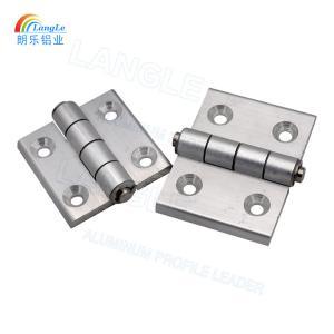304 Stainless Steel Aluminium Profile Connectors Door Hinges Powder Coating
