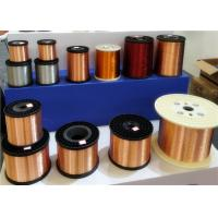 China Solid Silver Plated Copper Wire , Clad Aluminium CCA Twisted Electric Wire wholesale
