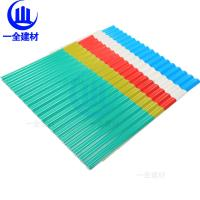 China Small Wave Pvc Roof Tiles / Corrugated Plastic Roof Panels Sound Absorption wholesale