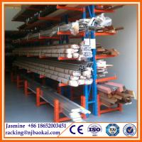 Buy cheap Customized Wood furniture industry storage Cantilever Rack from wholesalers