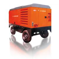 China Large Capacity Portable Rotary Screw Air Compressor 132KW 17m³/Min Low Oil Content wholesale