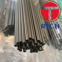 China Astm A269 Capillary Stainless Steel Tube For Electric Appliance Industries wholesale