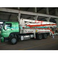 China 4 Arms Cement Pumping Machine / Concrete Construction Equipment SY5295T 80 Km/H wholesale
