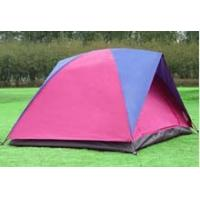 Folding portable camping tent, multi-function two layer tent for camping