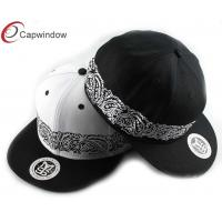 China Outdoor Flat Brim Baseball Hats wholesale