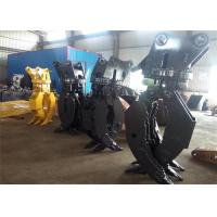 China High Strength Hydraulic Wood Rotating Grapple For Excavator Volvo EC290 wholesale