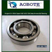 China Deep Groove Ball Bearing NSK Ball Bearings 6312CM With Low Vibration wholesale