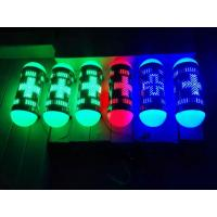 China Pure Green LED Pharmacy Cross Signs Illuminated Projecting Box Round Shape 110V on sale